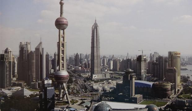 """Chinas Boom-Metropole """"Über dem Meer"""""""