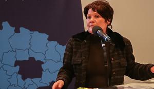 Stellvertretende Regionspräsidentin Doris Klawunde.