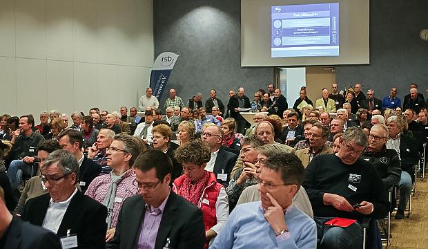 Vollbesetzt: das Auditorium beim 5. RSB-Sportkongress.