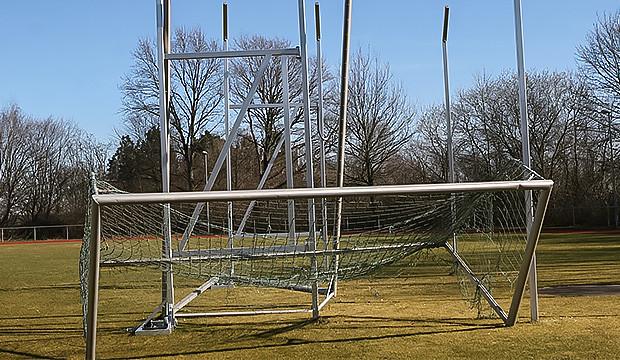 Schwachsinniger Vandalismus beim TSV Kirchdorf
