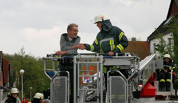 Ein Urgestein der Barsinghäuser Feuerwehr wird verabschiedet