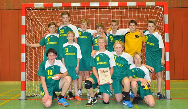 Vielversprechender Nachwuchs: Die männliche C-Jugend ist das erfolgreichste Team der HSG.