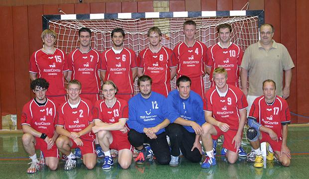 Der ewige Oelke: Herrentrainer Andreas Oelke war oft zur Stelle, wenn die HSG ihn brauchte – so war es in der Saison 2006/2007 (Foto) und so ist es auch heute.