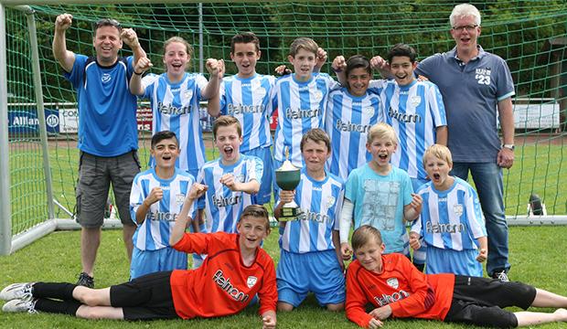 Sieger D-Junioren: Basche United I
