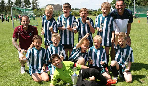 Sieger E-Junioren: VSV Hohenbostel