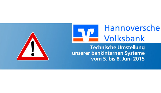 Hannoverschen Volksbank rüstet mit neuer Technik auf