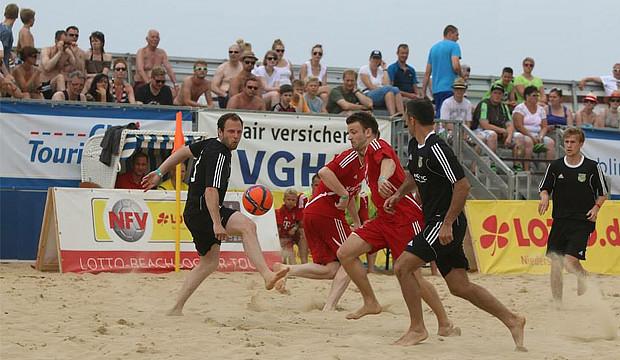 Beachsoccer – auch ein Ding für den 1. FC Wennigser Mark