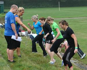 ...als auch das Training im Bootcamp im Angebot des Frauensporttages.