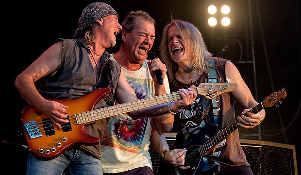 Deep Purple: Prächtige Mitschnitte und Tour im Herbst
