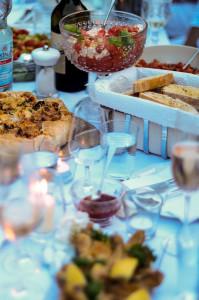 Leckeres Essen: Die Teilnehmer des Diner en Blanc sorgten für viel Abwechslung auf den Tischen.