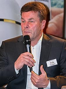 Hielt die Laudatio: Dieter Hecking