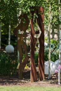 Traumhaft schön: Auf dem Gelände der Firma Meißner Gartenbau in Garbsen-Horst findet das Seminar zum Thema Achtsamkeit statt. foto:kasse