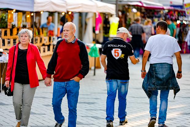 Kommen und Gehen: Beim diesjährigen Barsinghäuser Stadtfest war immer etwas los.