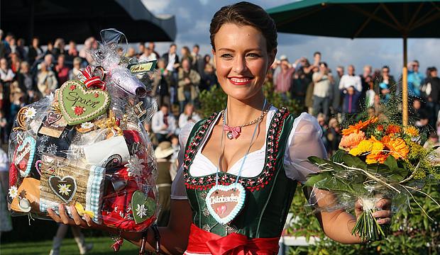 """Wies'n-Atmosphäre beim """"Oktoberfest-Renntag"""""""