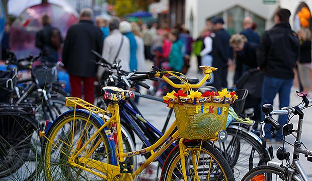 Herbstmarkt lockt zahlreiche Besucher in die Innenstadt