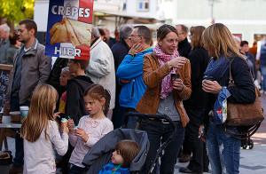 Viel los: Der Herbstmarkt zog zahlreiche Besucher an. foto:kasse