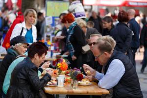 Herbstmarkt: Nächstes Jahr soll dieser verkaufsoffene Sonntag den Ortsteilen beziehungsweise den Vereinen gewidmet werden. foto:kasse
