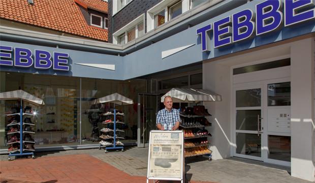 Schuhhaus Tebbe feiert zwei spannende Jahrzehnte