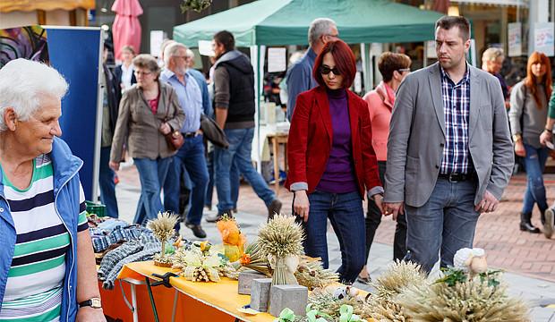 Unser Barsinghausen lädt zum Herbstmarkt in die City ein