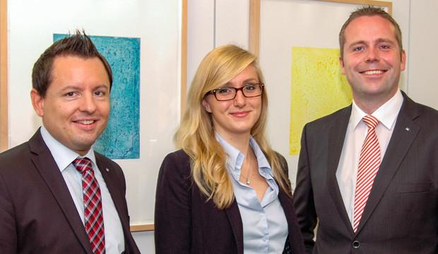 Maren Kleinau ist neue Firmenkundenbetreuerin