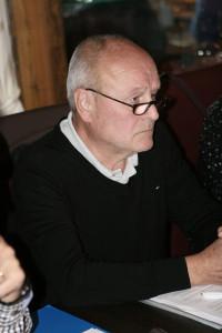 Moderator: Wolfgang Meier, Vorsitzender des Trägervereins Lehrschwimmbecken-AGS.