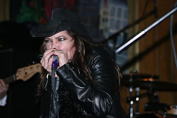 Vor drei Jahren: Stacie Collins in der Blues Garage. Foto: Bratke