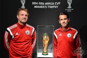 FOTO 5: Talentteam: Paul Nieber (links) soll für Optimierung sorgen, unter anderen in enger Absprache mit dem U19-Chefcoach Tim Hoffmann (rechts). Foto: privat