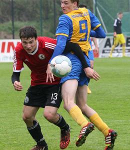 Talentiert: Ist er der nächste Oberligaspieler aus der eigenen A-Jugend? Domenik Behnsen kam über Basche United und dem TSV Havelse zum JFV Calenberger Land. Foto: Bratke