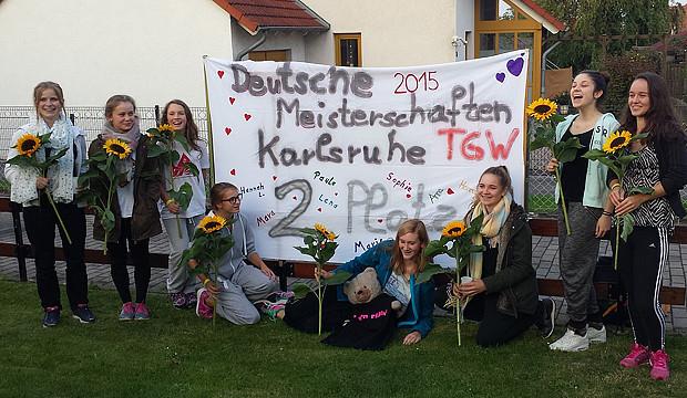 Kirchdorfs Turnerinnen gehören zur deutschen TGW-Spitze