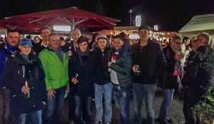 Treffpunkt SC Elite: Fußballfreunde aus Barsinghausen schicken uns dieses Handyfoto.