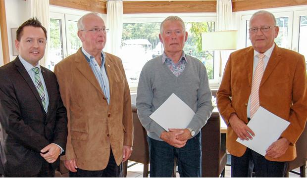 Hannoversche Volksbank ehrt langjährige Mitglieder