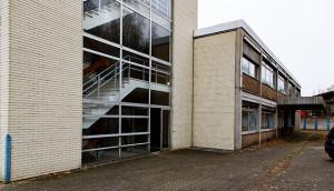 Charme der 60-er und 70-er Jahre: Die ehemalige Krawattenfabrik Ahlborn.