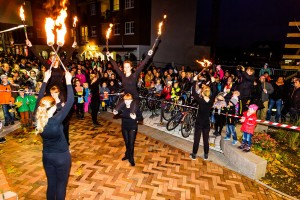 Spektakulär: Feuershow des KIJUCIBA. foto:kasse