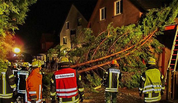 Sturmschaden in Hohenbostel