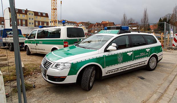 Zollkontrolle auf Barsinghausens derzeit größter Baustelle
