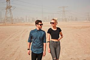 Ausgezeichnet: Das Duo Glasperlenspiel versteht sich auf Elektro-Pop. Foto: Wolf