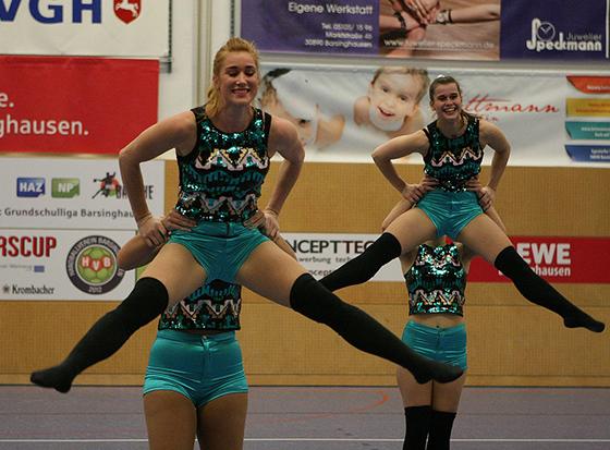 Choreografie: Die TGW-Damen zeigten Kür-Ausschnitte ihres Programms.