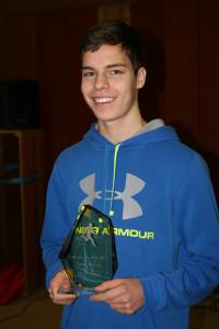 Sportler des Jahres: Leon Martin.