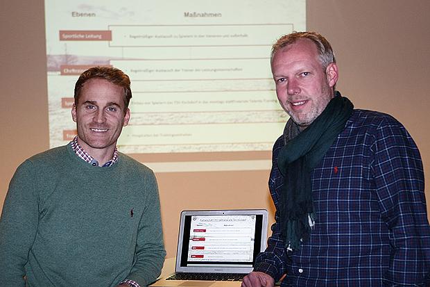 Protagonisten: Jan Baßler (links) und Markus Bettac (rechts) wollen die neue Partnerschaft mit Leben füllen. Fotos: Bratke