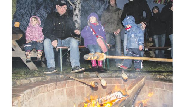 Backhaus Barrigsen lädt ein zu Glühwein am Lagerfeuer