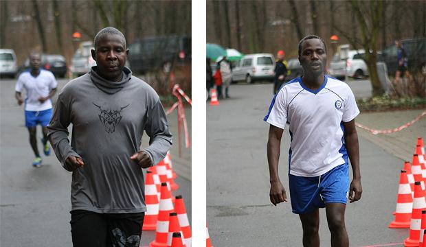 International zwei: Sadik und Ibrahim stammen aus dem Sudan.