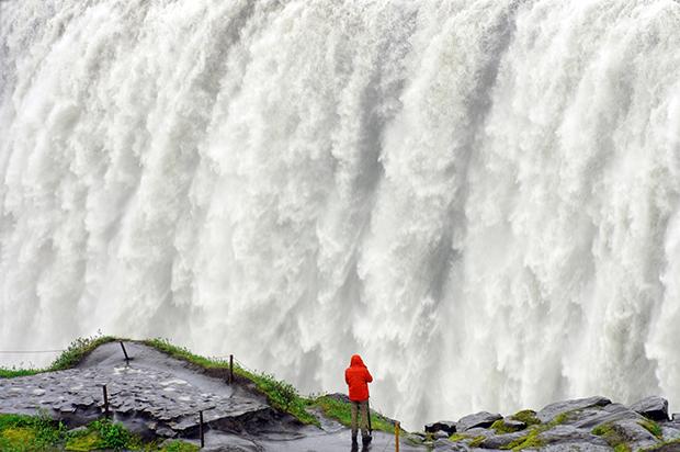 Faszinierend: Der Dettifoss ist der größte Wasserfall im Nordosten Islands.