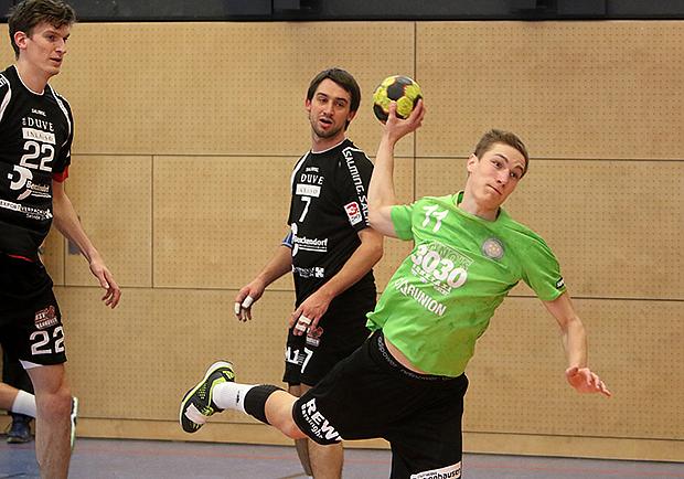 Wechselspiel: Das HVB-Eigengewächs Lukas Schieb versucht sich ab der nächsten Saison in der 3. Liga. Foto: Serreck