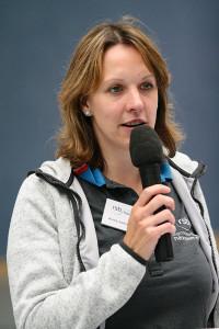 Scheckübergabe: RSB-Geschäftsführerin Anna-Janina Niebuhr erwartet die Vereinsvertreter im Haus der Region in Hannover.