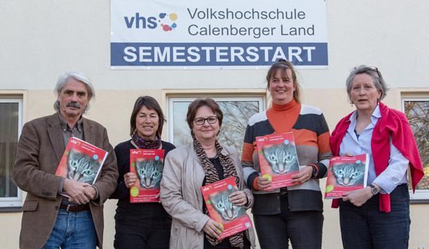 VHS startet in das Frühjahrssemester