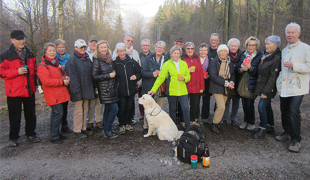 Kirchdorfer Senioren genießen frühlingshaften Wintertreff