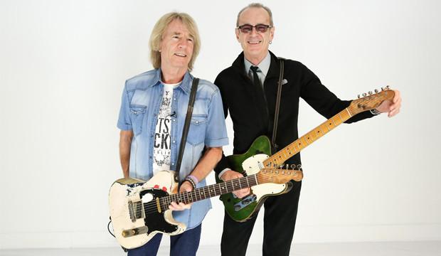 Status Quo ein letztes Mal mit den Telecaster-Gitarren unterwegs