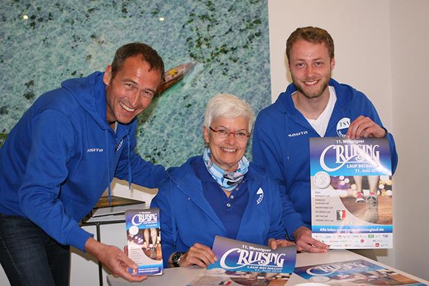 Vorfreude: Henrik Heüveldop, Heike Zündorf und Paul Zimmermann (von links) sind vom neuen Konzept überzeugt. Fotos: Bratke