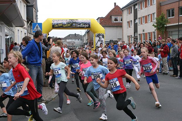 Rückblick 2014: Die Kids machten bisher rund zwei Drittel aller Teilnehmer beim Cruisinglauf aus.