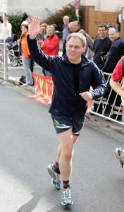 Neu ist der Jekami-Lauf: Auch Bürgermeister Christoph Meineke war schon beim Cruisinglauf am Start – wie hier im Jahr 2007.